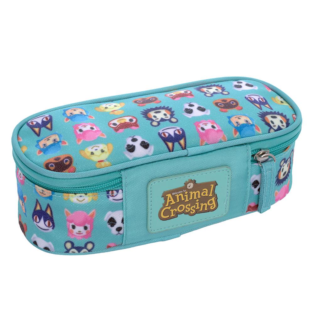 Astuccio Ovale Organizzato Animal Crossing Nintendo 65139   Lema Scuola Ufficio
