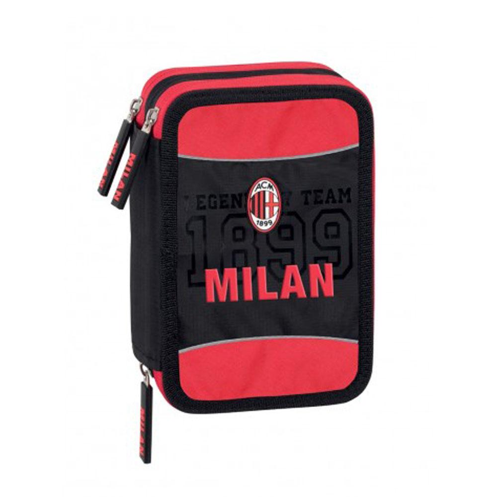 Astuccio 3 Zip Milan Accessoriato