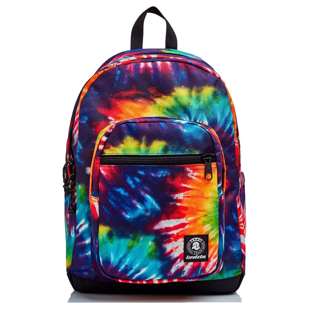 Zaino Invicta 206002055-fx6 jelek backpack fantasy tie-dye colors   Lema Scuola Ufficio