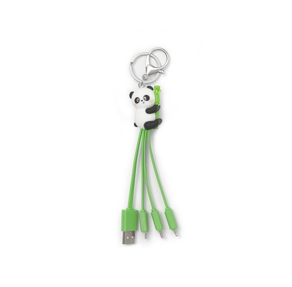 Legami Cavo di Ricarica Multiplo Panda | Lema Gadget Scuola