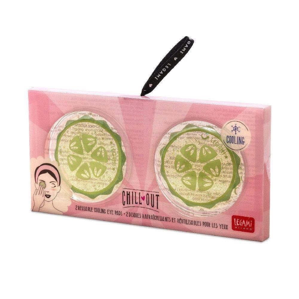 Legami Dischetti Occhi Rinfrescanti e Riutilizzabili Cucumber   Lema Gadget Regali