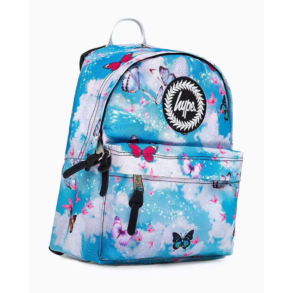 Mini Zaino Glitter Butterfly Skies Hype   Lema Scuola Ufficio