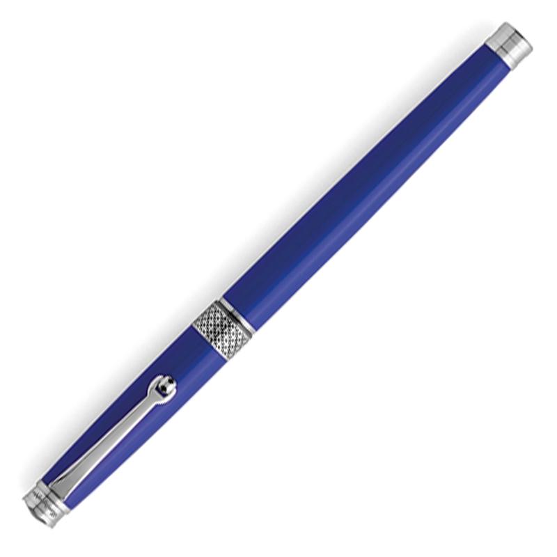 Penna regalo Montegrappa Piacere Roller Blu Cobalto San Miniato