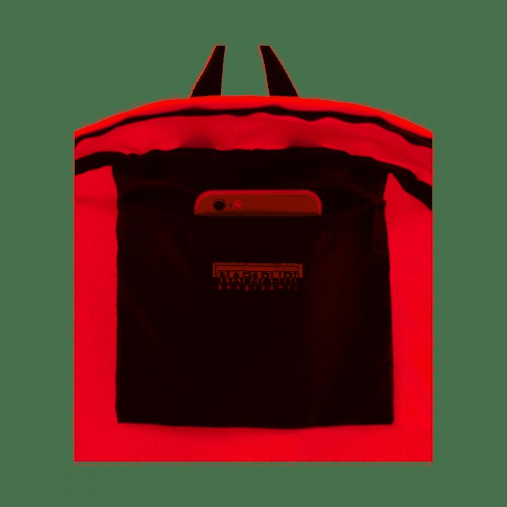 Napapijri zaino Voyage rosso pop red 20 litri unisex scuola interno   Lema shop Toscana
