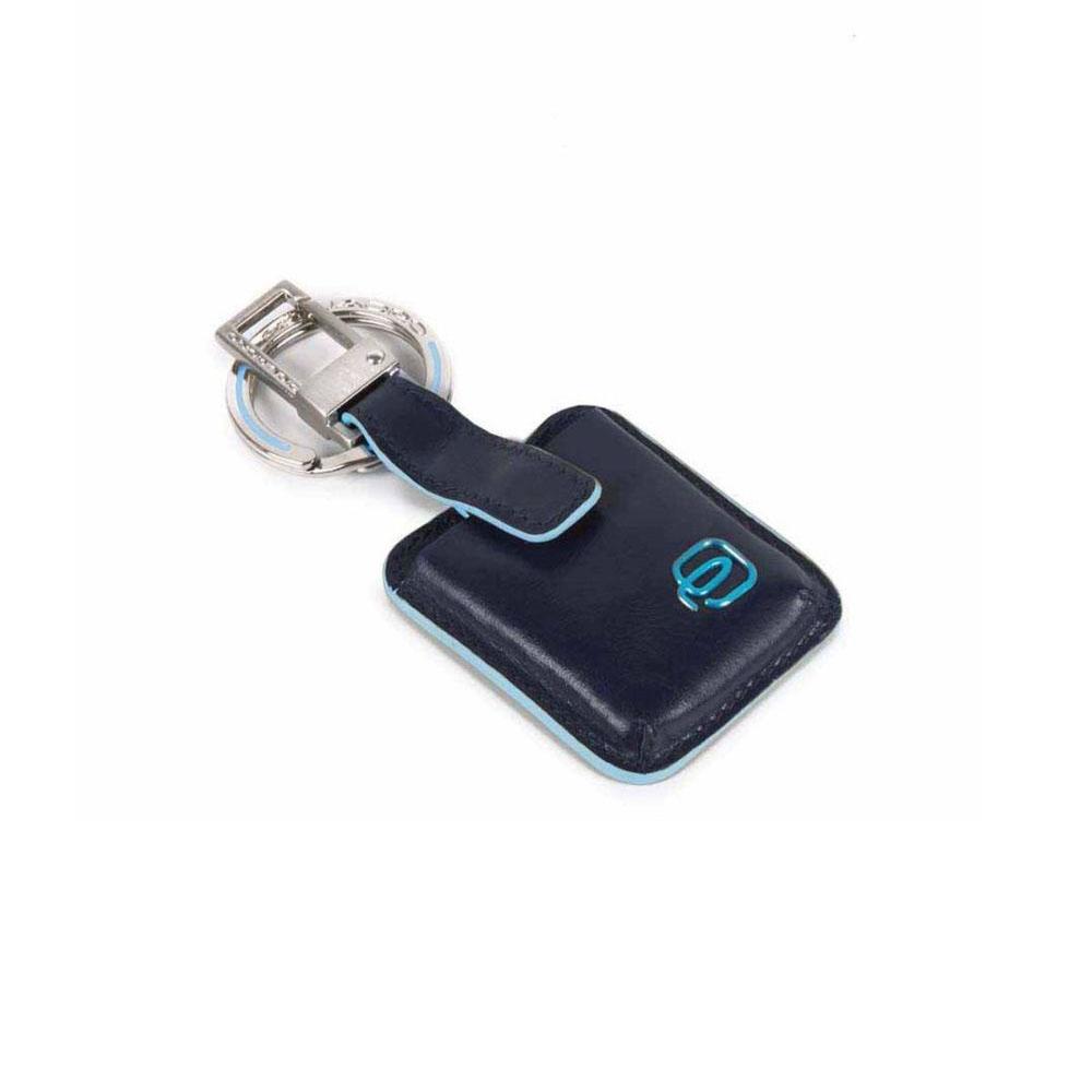 Portachiavi Piquadro Connequ Blu AC3954B2/B | Lema Borse
