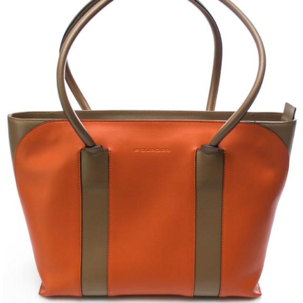 Borsa a spalla Donna Piquadro Ananke arancione BD4307S93/A   Lema