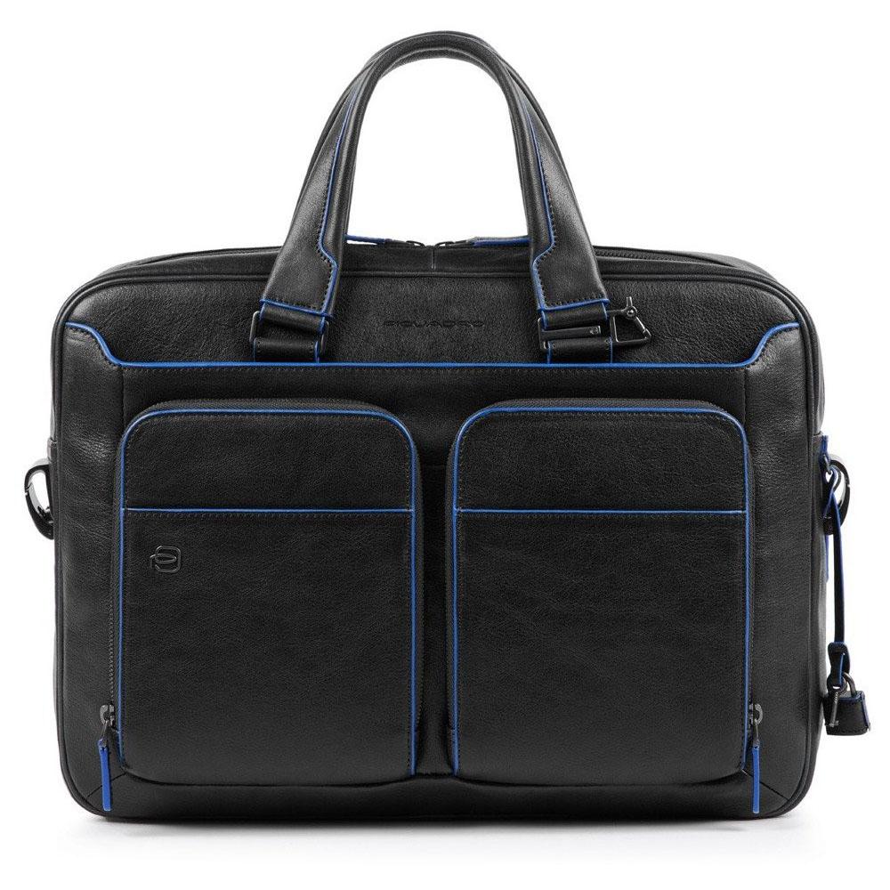 "Cartellina Piquadro Pelle porta PC 14"" Blue Square Blu CA2849B2S/B | Lema"