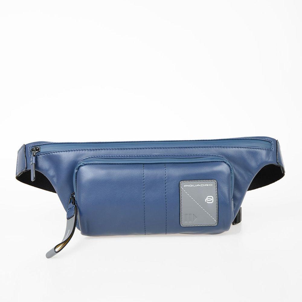 Marsupio Piquadro Pelle Blu CA2174W97/BLU   Marsupio Borse