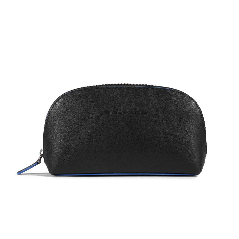 Pochette Porta Cavi Piquadro Blue Square Nero AC5470B2S/N | Lema Borse