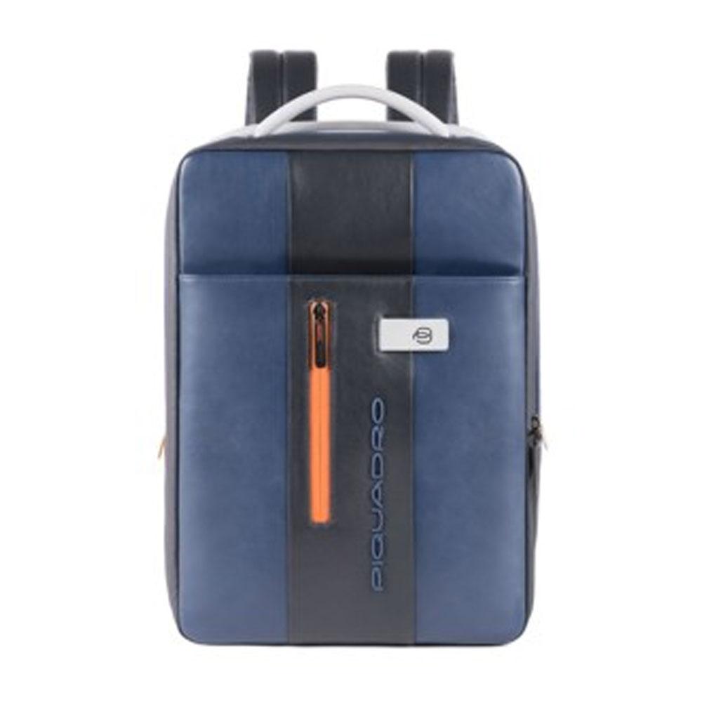 "Zaino Sottile Piquadro Porta PC 15,6"" Urban Blu CA4840UB00/BG | Lema"