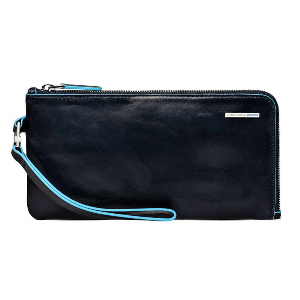 Pochette da Polso Piquadro Blu B2 AC2648B2/B   Lema Borse