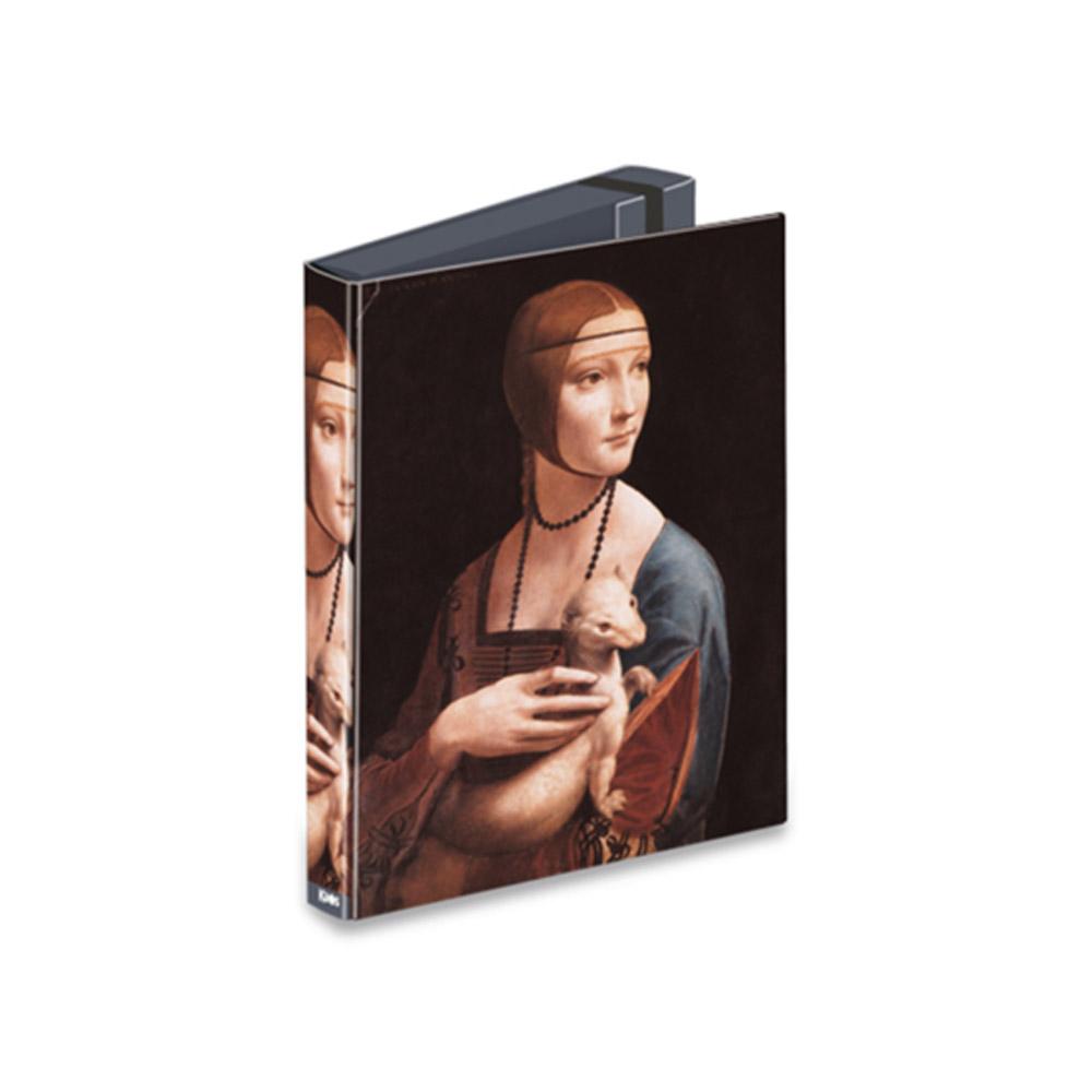 Portaprogetti Kaos D7 Dama con l'Ermellino Leonardo Da Vinci | Lema Scuola Ufficio