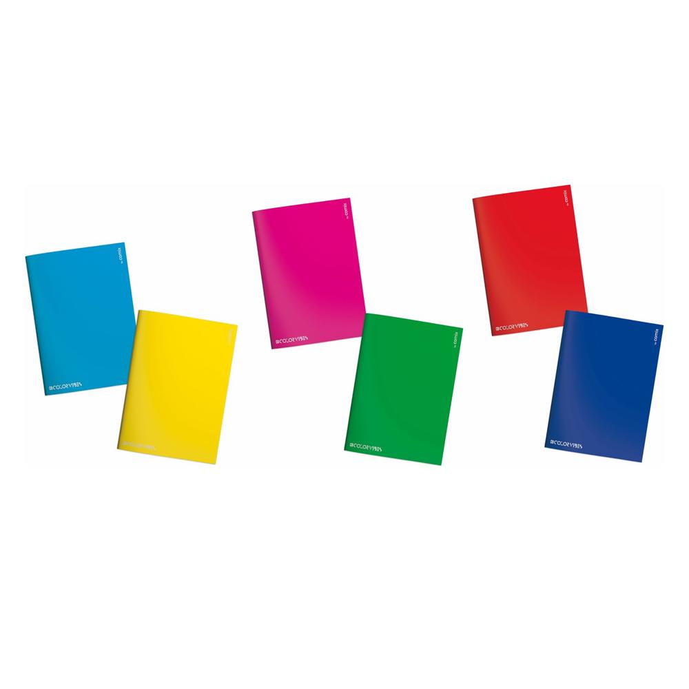 3 Maxi Quaderni +30% pagine Comix Color Vibes 1 RIGO | Lema