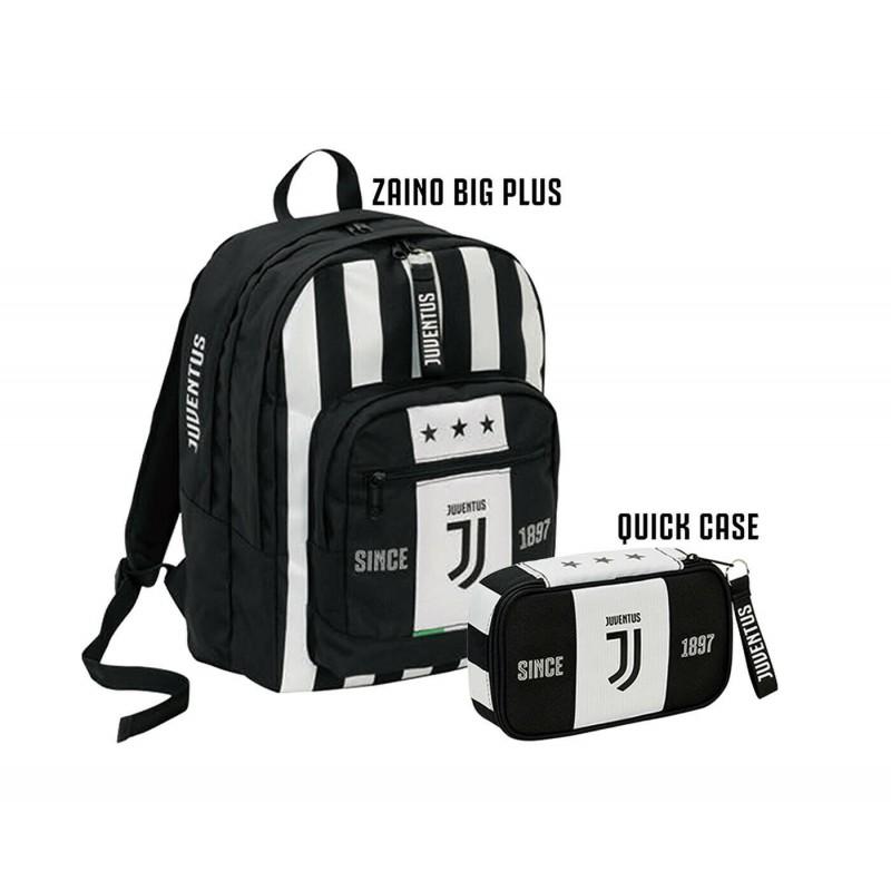 schoolpack bambino juventus 6b6001909 seven zaino organizzato astuccio completo gadget omaggio lemanet
