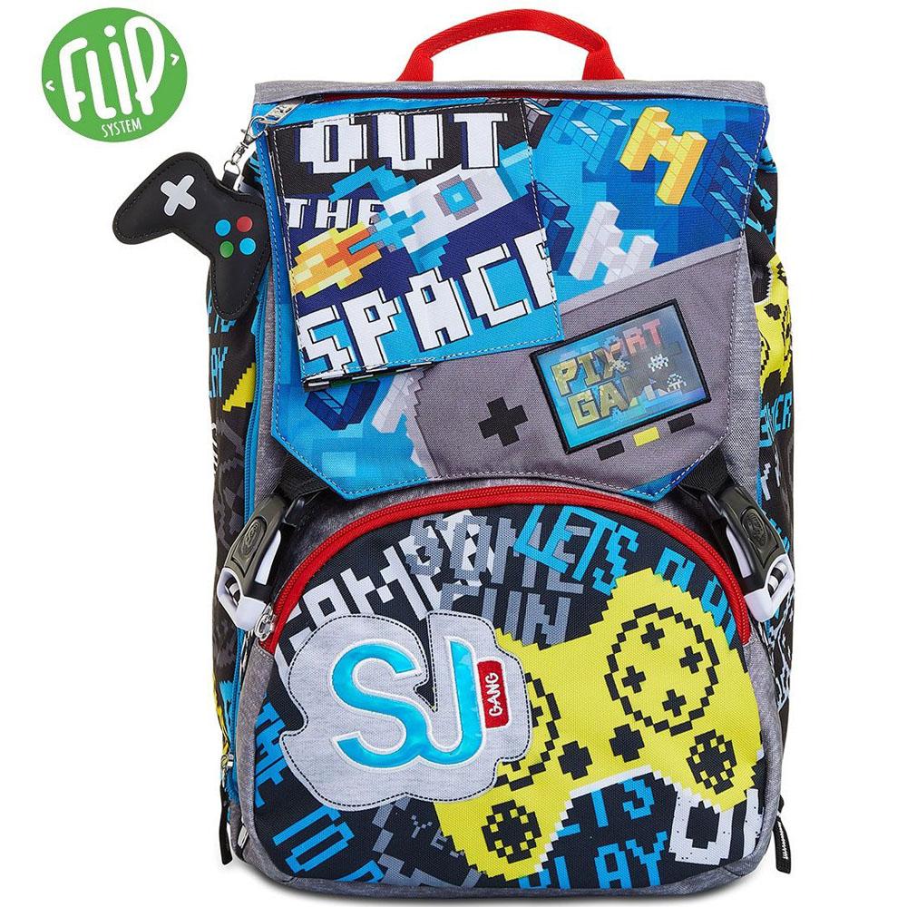 Zaino Seven Sdoppiabile SJ GANG Cyber Boy 2C2002101   Lema Scuola Ufficio