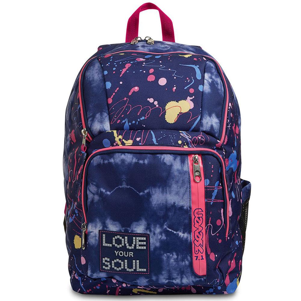 Zaino Seven Point Out 34 litri Love Your Soul 201002140 | Lema Scuola Ufficio