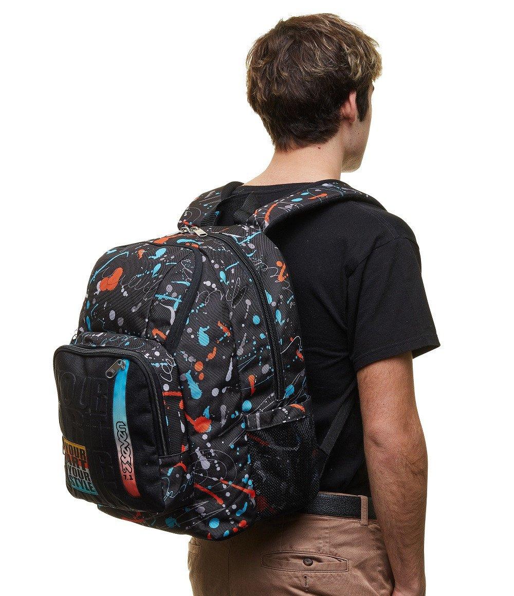 Zaino Seven Point Out 34 litri Personal Art 201002122 indossato | Lema Scuola Ufficio