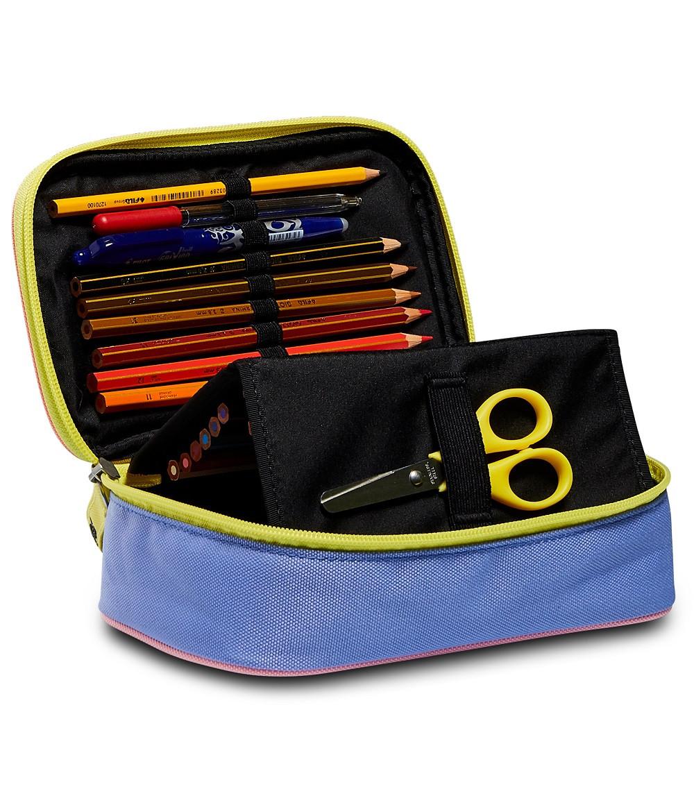 Astuccio Fedez x Seven Quick Case completo multicolore 3F5032101-FAE aperto | Lema Scuola Ufficio