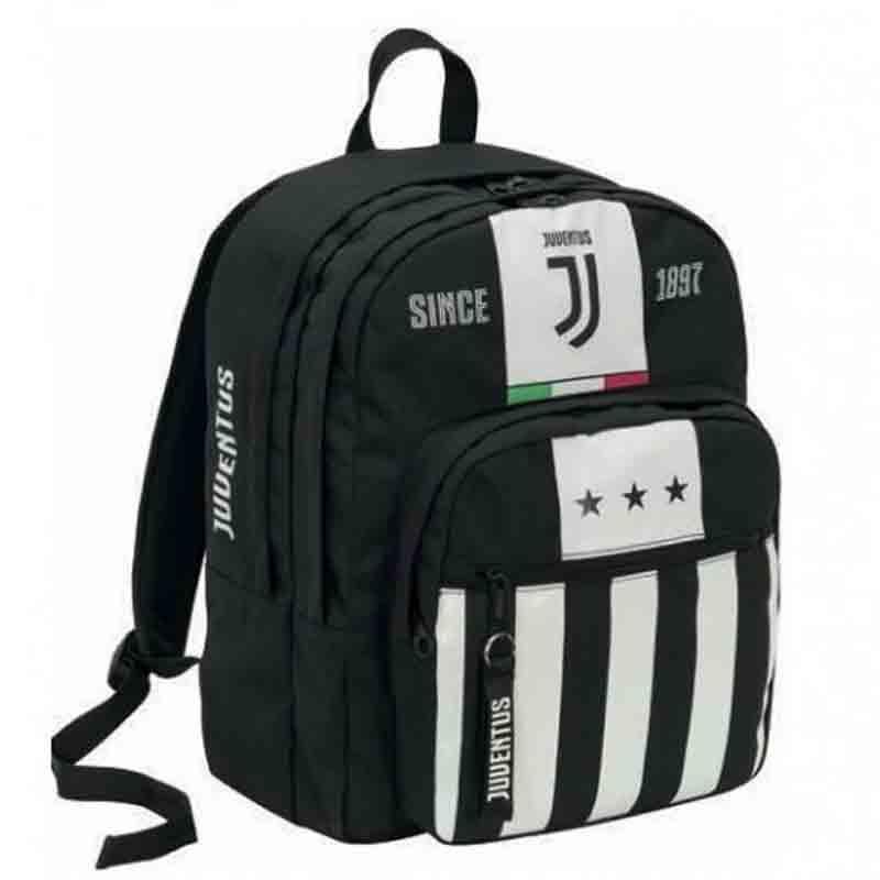 Zaino Juventus League Seven doppio scomparto 2B6001911 scuola bambino   Lemanet.it