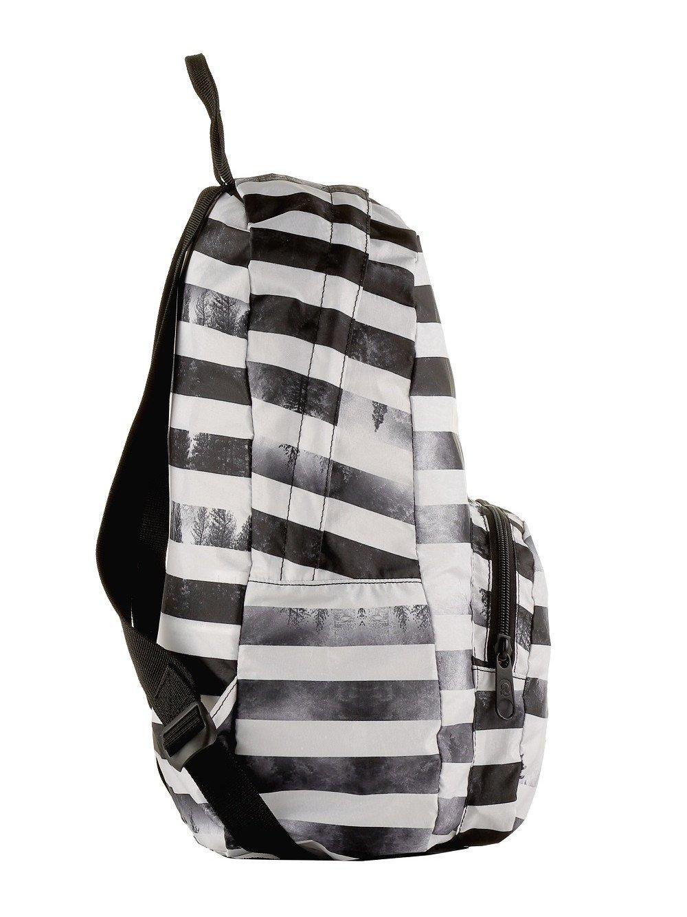 Zaino Invicta 20 litri Packable Smart 206001813-FO7 zaino viaggi tempo libero ripiegabile black striped forest lema