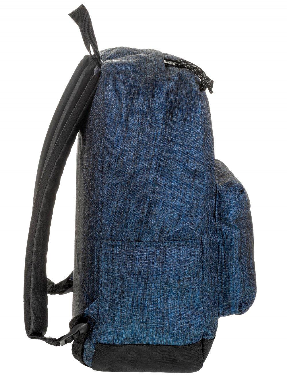 Zaino Carlson Invicta 206001917 blu melange porta computer lema cartoleria online laterale