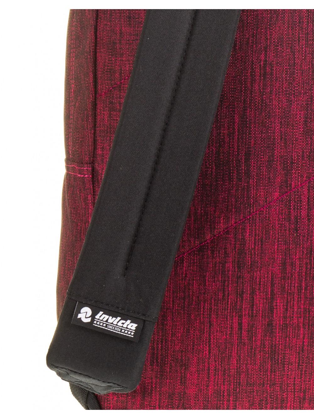 Zaino Carlson Invicta 206001917 rossa melange porta computer lema cartoleria online spallacci